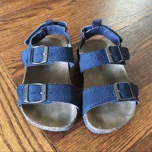Carter's Navy Blue Sandals Size 7